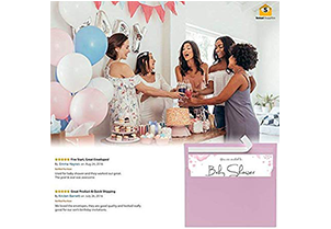 110 5x7 Pink Invitation Envelopes 5
