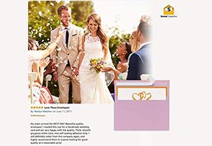 110 5x7 Pink Invitation Envelopes 6