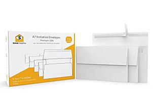 110 5x7 White Invitation Envelopes 3