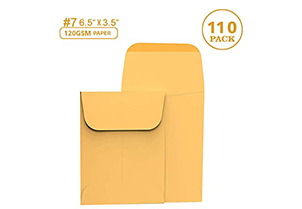 Cash Envelopes Kraft 3 3