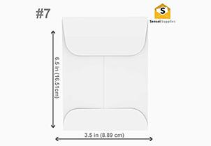 Cash Envelopes White 3 3
