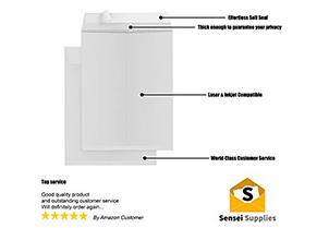 Security Catalog White Envelopes 3