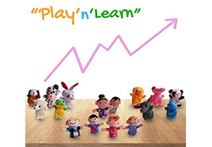 Sensei Play 'n' Learn Finger Family Puppets 3