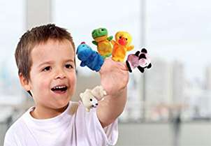 Sensei Play 'n' Learn Finger Family Puppets 4