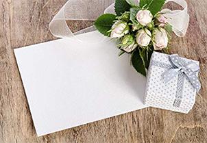 White Gum Seal Invitation Envelopes - A7 5