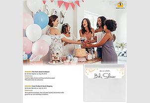 White Gum Seal Invitation Envelopes - A7 6