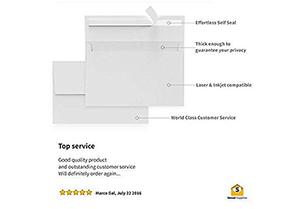 White Invitation Envelopes 1