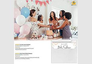 White Invitation Envelopes - A9 1