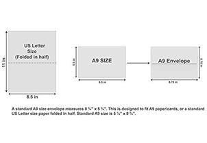 White Invitation Envelopes - A9 2
