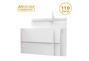 White Invitation Envelopes - A9 4