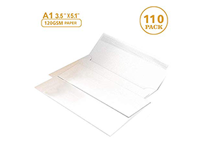 White RSVP Small Envelopes - A1 1
