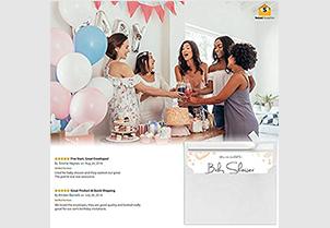 White RSVP Small Envelopes - A1 2