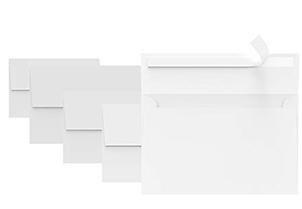 White RSVP Small Envelopes - A1 4