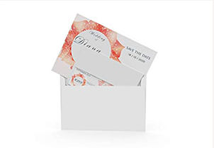 White RSVP Small Envelopes - A1 7