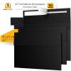 5x7 Black Invitation Envelopes - 110 Pack