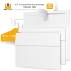 5x7 White Invitation Envelopes - 110 Pack